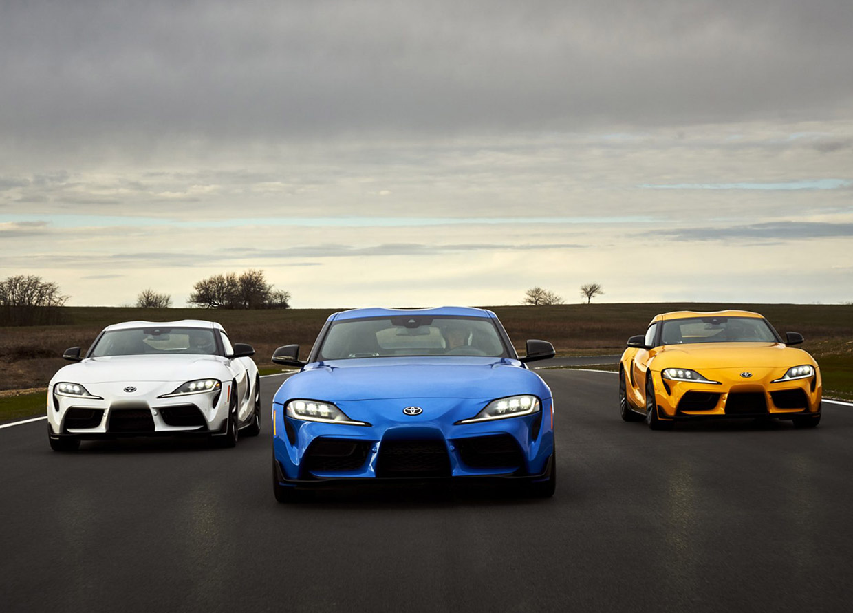 2021 Toyota GR Supra Gains Power and Turbo-4 Version