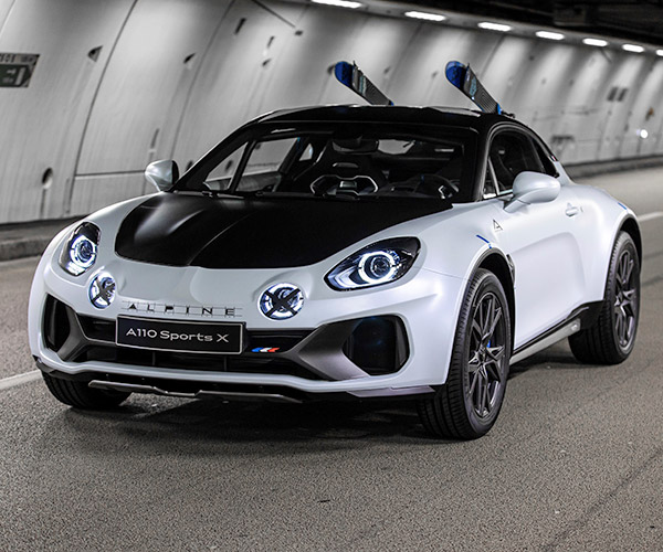 Alpine SportsX Concept Is a Lifted and Widened A110