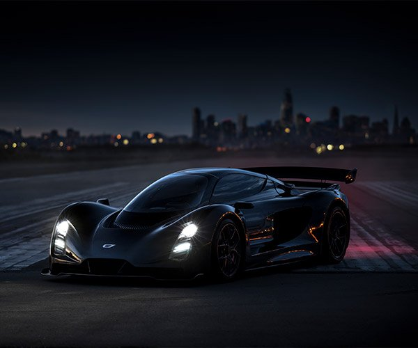 The Czinger 21C Is a 1250hp, U.S.-built Hybrid Hypercar