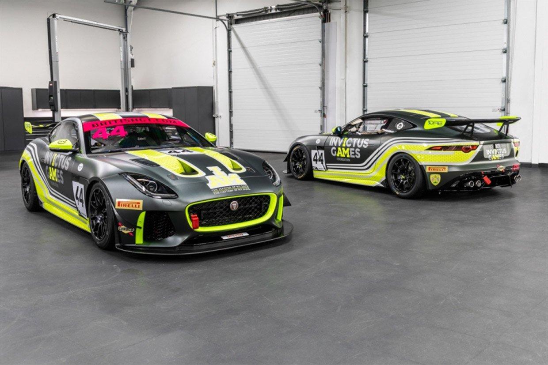 A Duo of Jaguar F-TYPE SVR GT4 Race Cars Up for Sale