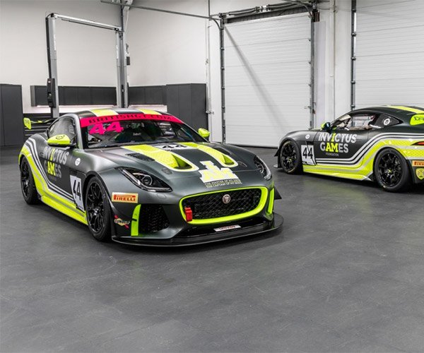 A Duo of Jaguar F-TYPE SVR GT4 Race Cars Up for Sale
