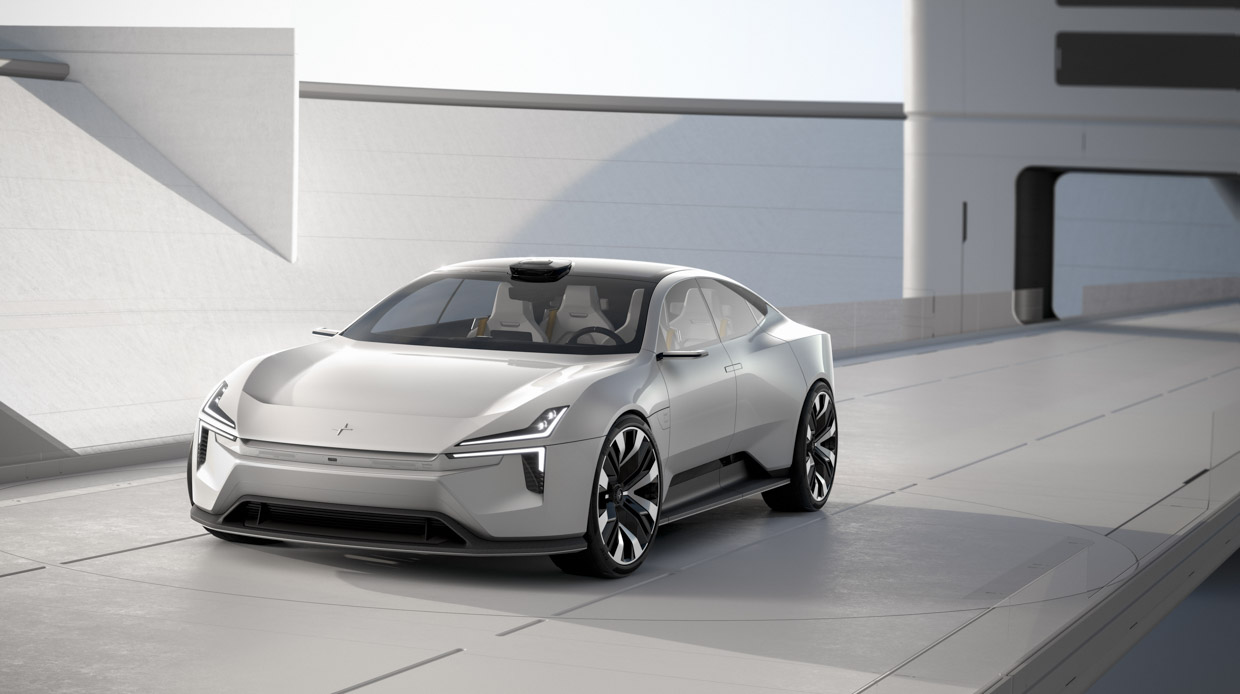 Polestar Precept Previews the EV Future