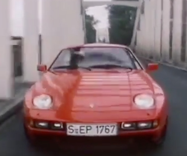 From the Vaults: Porsche 928S Dealer Promo