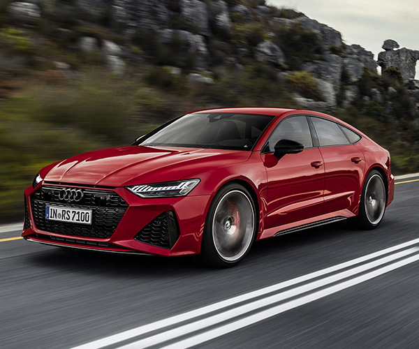 2021 Audi RS 7 Gives You 591 Horses for Six Figures