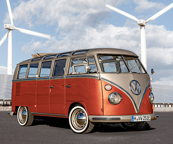 Volkswagen e-BULLI Is a Classic VW Bus with an Electric Heart