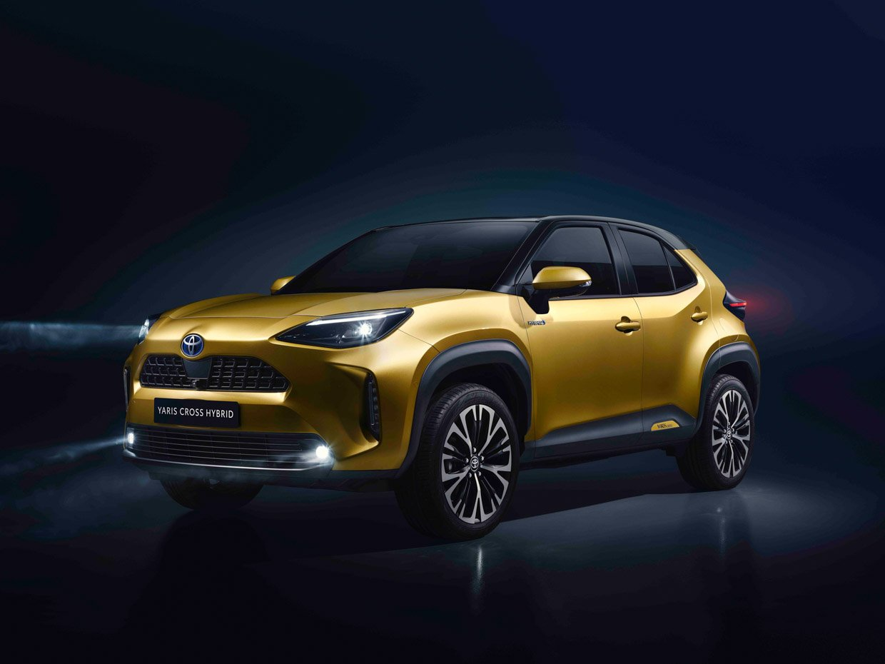 2021 Toyota Yaris Cross Looks Like a Mini RAV4