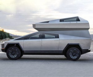 Tesla Cybertruck Camper Add-on: Camp to the Future