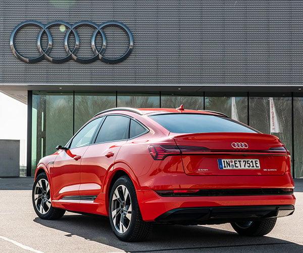 2020 e-tron Sportback Is Audi's Second Pure Electric