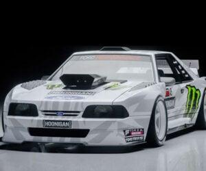 "Check out Ken Block's Fox Body ""Hoonifox"" Gymkhana Concept Car"