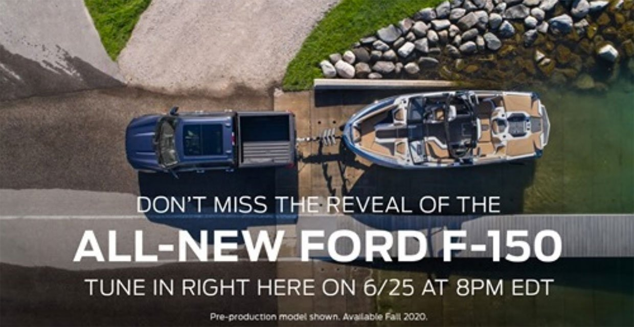Ford Teases 2021 F-150 Ahead of Reveal