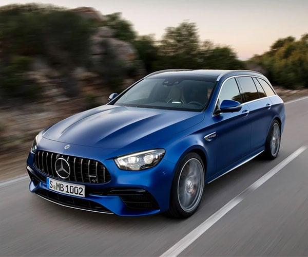 2021 Mercedes-AMG E63 S Sedan and Wagon Crank out 603hp