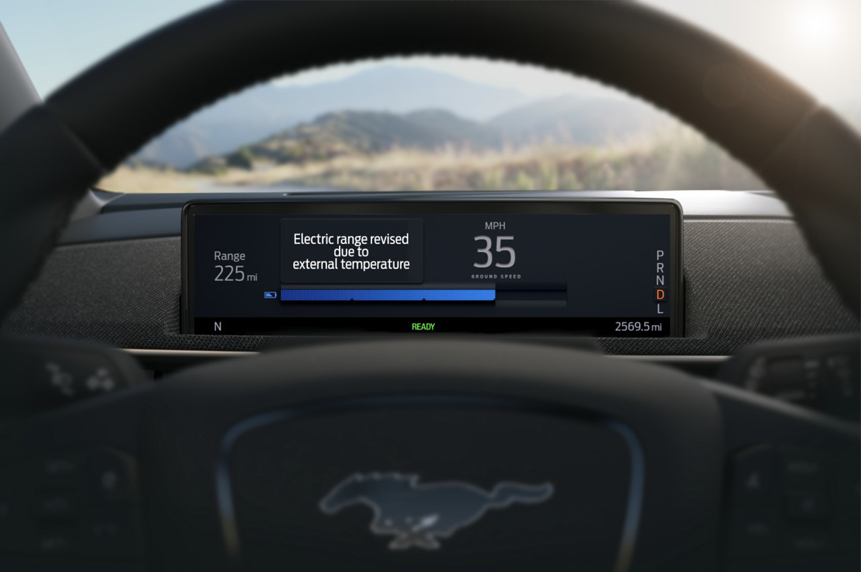 Ford Mustang Mach-E to Improve Range Estimates with Intelligent Range Technology