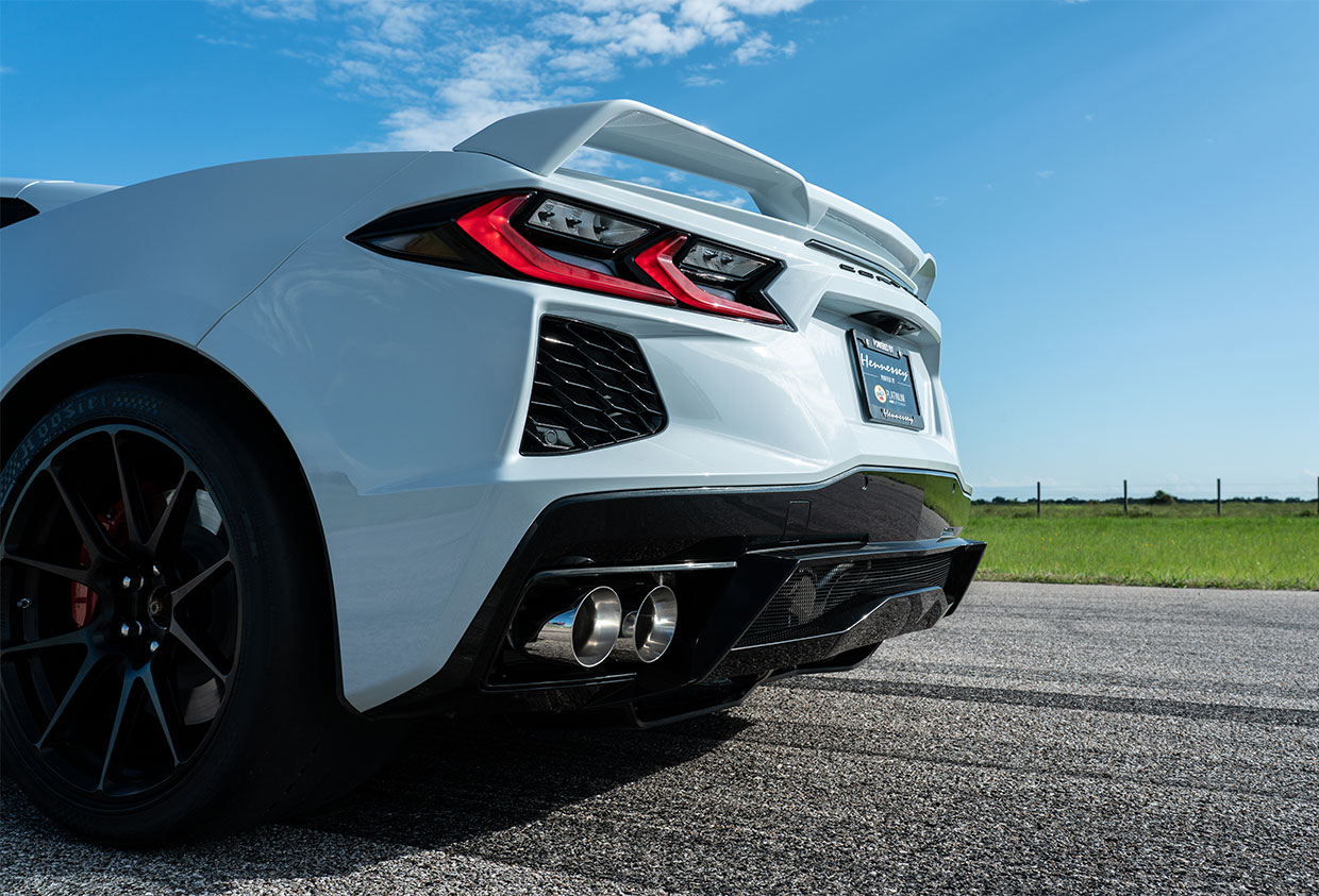Listen to Hennessey's C8 Corvette Exhaust Note Roar on the Dyno