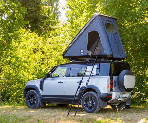 Land Rover Fans Can Now Buy a Fancy Roof-Top Tent for the New Defender