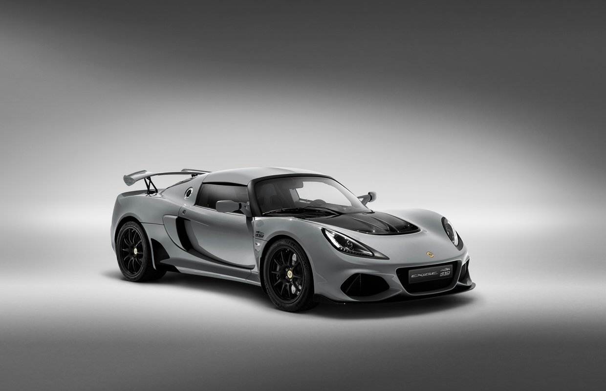 Lotus Exige Sport 410 20th Anniversary Is a Little British Monster