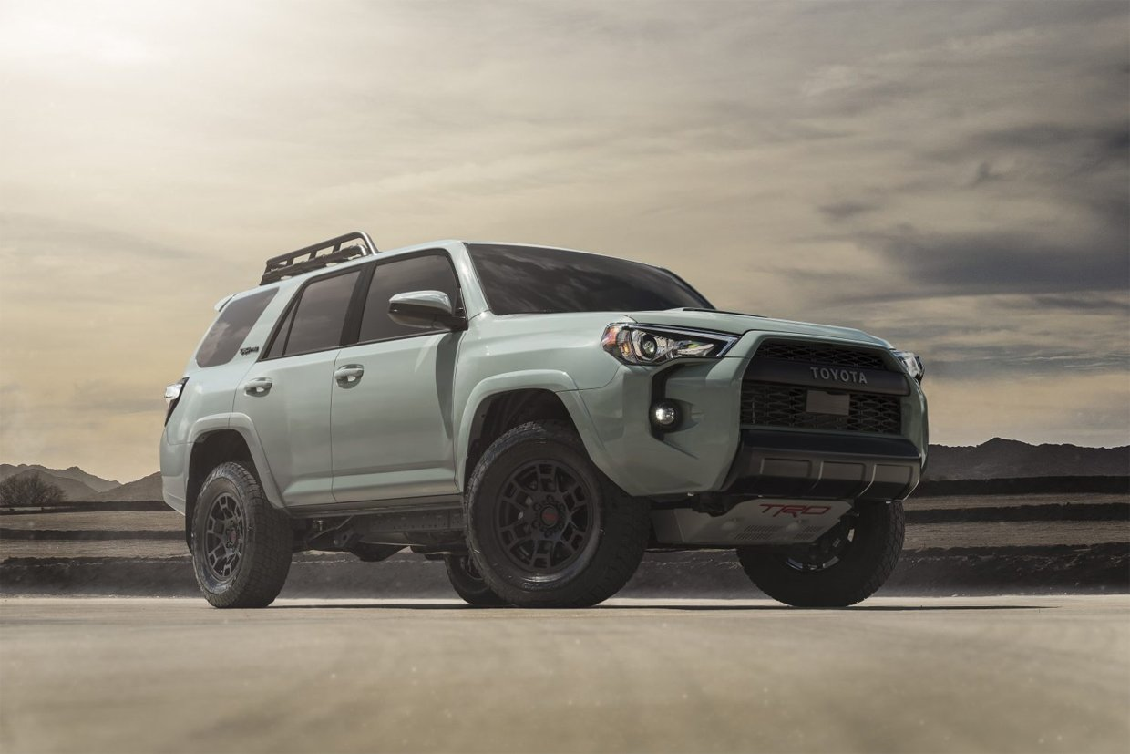 2021 Toyota 4Runner Trail Special Edition Rocks Style and Storage