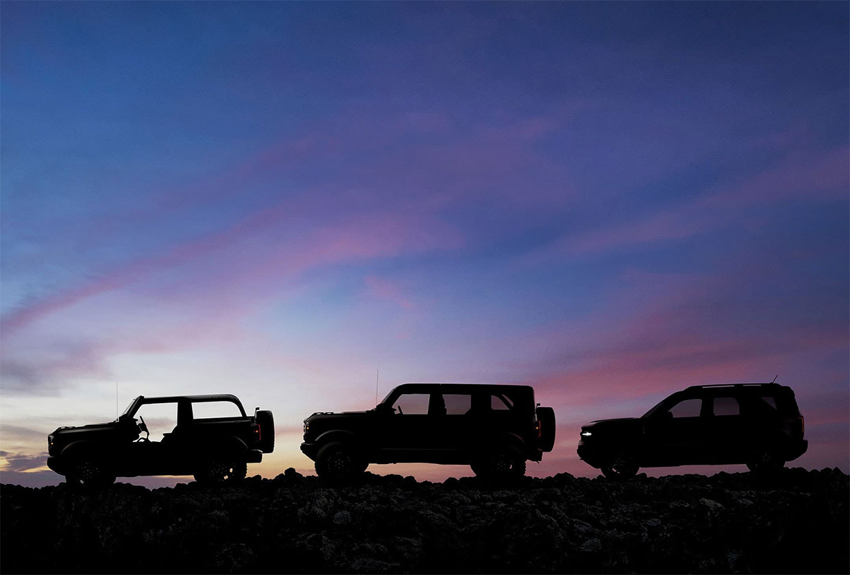 "Ford Teases 2021 Bronco Line with ""Built Wild"" Extreme Durability"