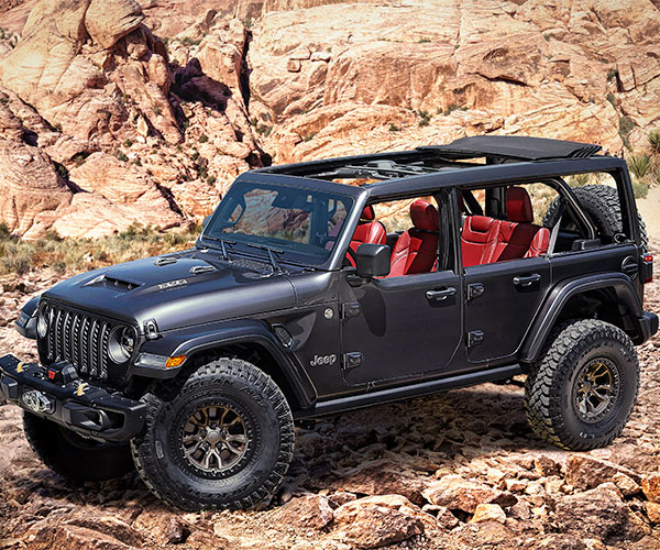 Jeep Wrangler Rubicon 392 Concept Crams a V8 into our Favorite Brick