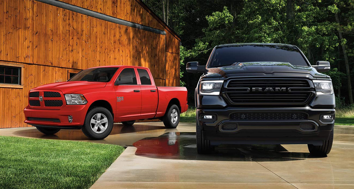 The RAM 1500 Classic Rolls into 2021