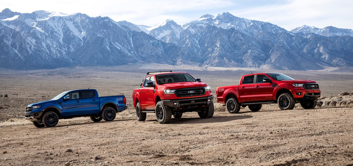 Ford Performance Adds Three Ranger Off-Road Accessory Packs