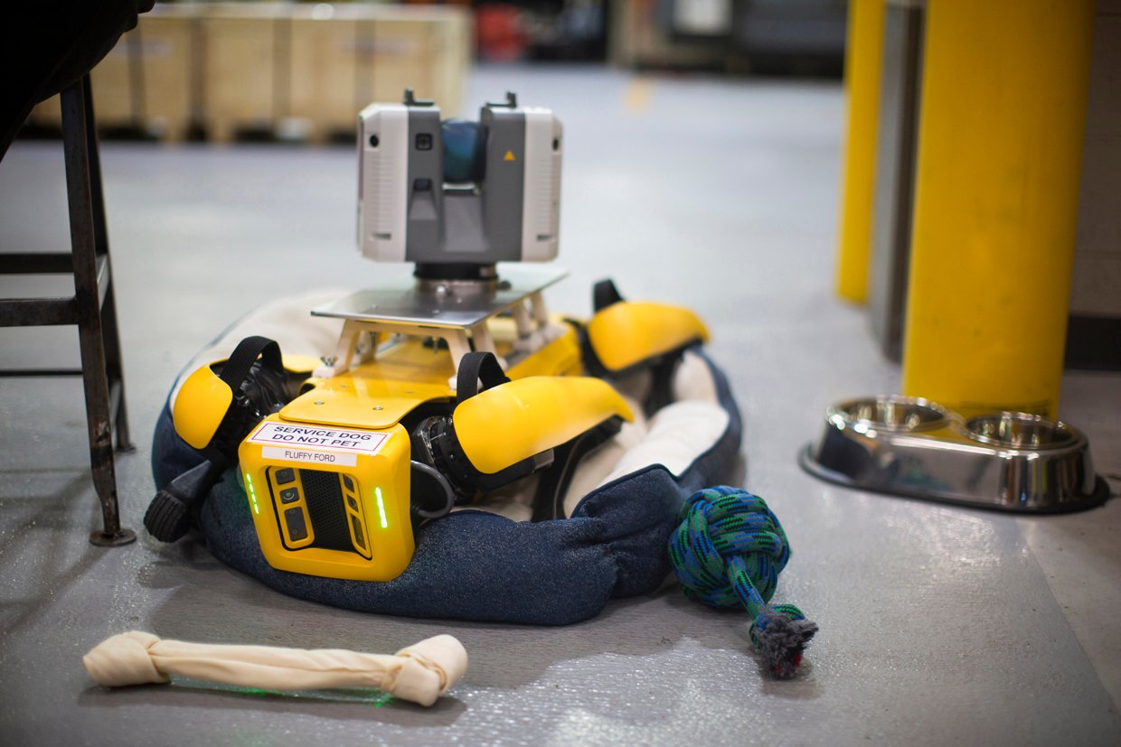 Ford Using Robot Dogs to Speed 3D Scanning of Manufacturing Facilities