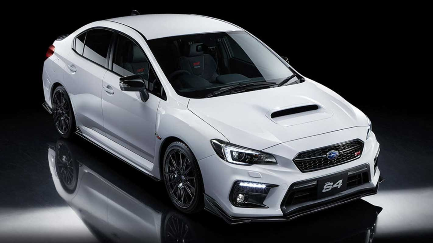 Limited-edition Subaru WRX S4 STI Sport # Already Sold Out in Japan