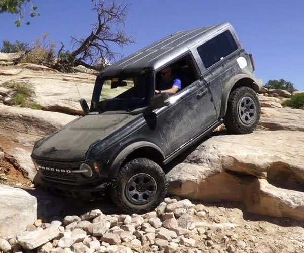 Watch the 2021 Ford Bronco Take to the Trails in Moab
