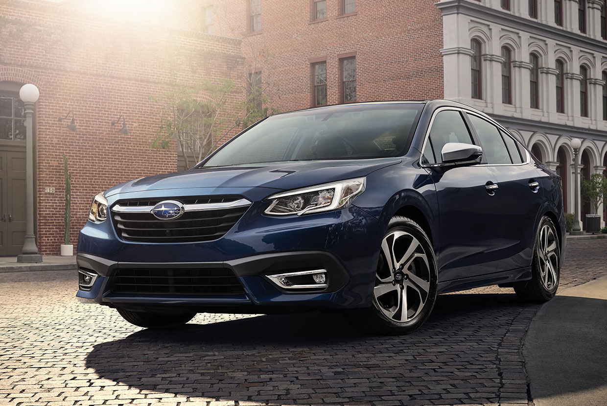 Subaru Announces 2021 Legacy and Outback Prices
