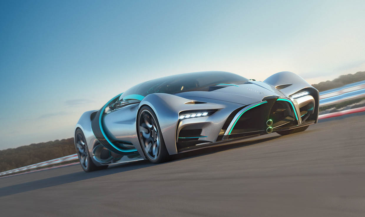 Crazy Fast Hyperion XP-1 is Powered by a Hydrogen Fuel Cell