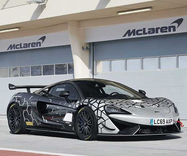 McLaren 620R is a Street-Legal Racing Car Based on the 570S GT4