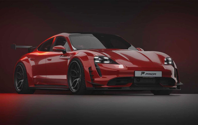 This Prior Design Modified Porsche EV has Taycan Our Breath Away