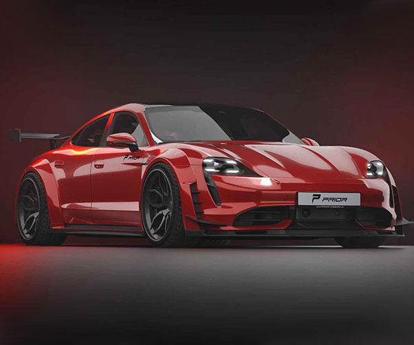 This Prior Design Modified Porsche EV has Taycan Our Breath Away