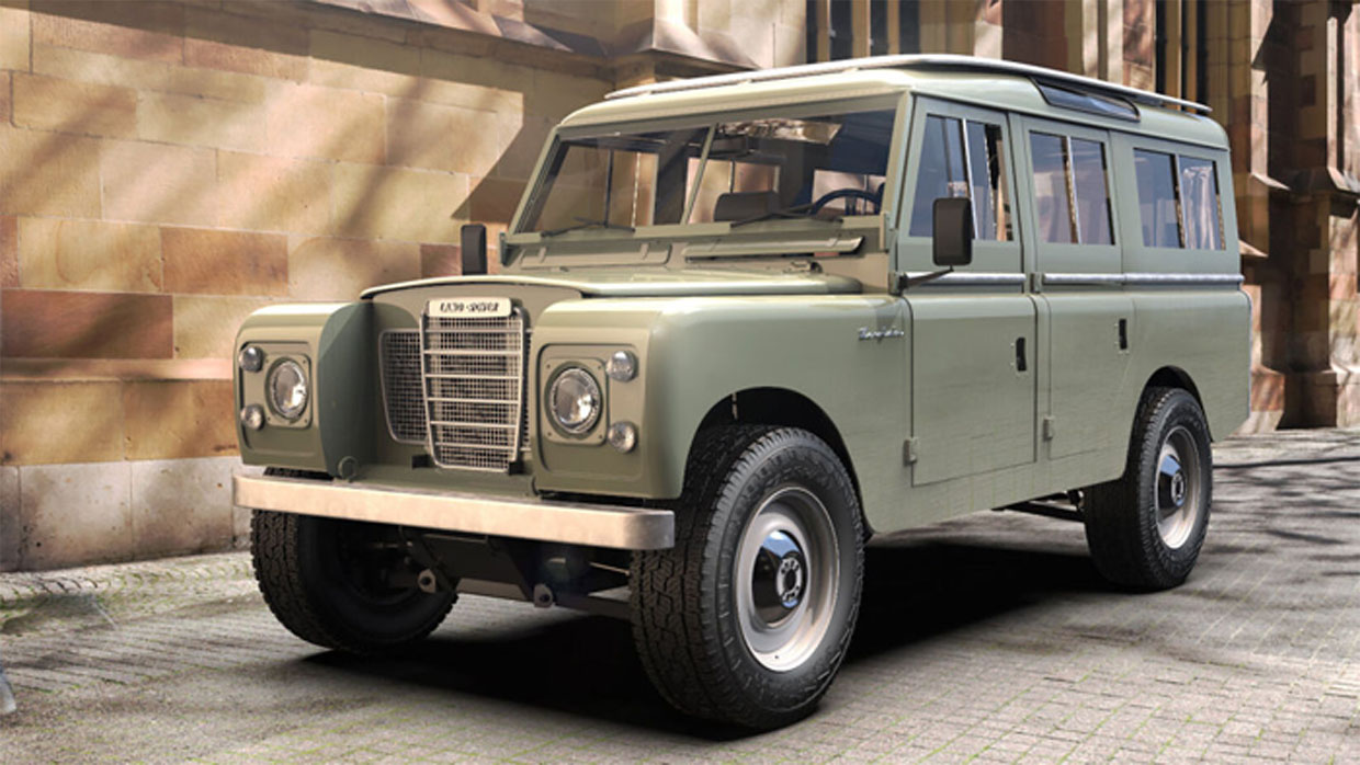 Zero Labs' Electric Land Rover is a Beauty and a Beast