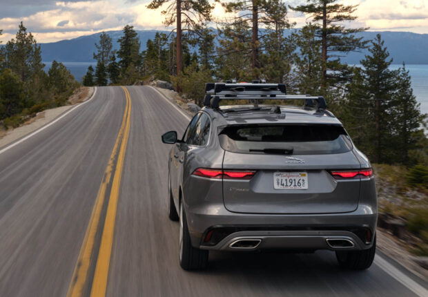 2021 jaguar fpace gets a new interior powertrain updates
