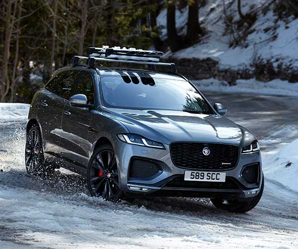 2021 Jaguar F-PACE Gets a New Interior, Powertrain Updates, and More