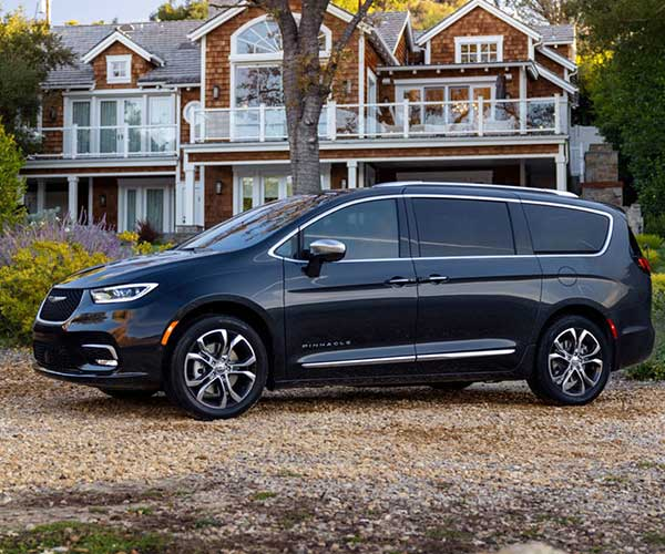 2021 Chrysler Pacifica Minivan is One Cool People Mover