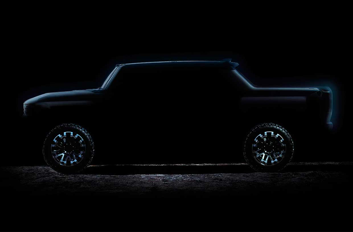 Hummer EV Reveal Date Announced, Crab Walk Mode Teased