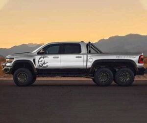 Hennessey Mammoth 6×6 Is a 1200hp Ram 1500 TRX with Six Wheels
