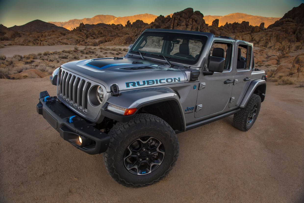 Jeep Wrangler 4xe Is a Plug-in Hybrid Off-Roader