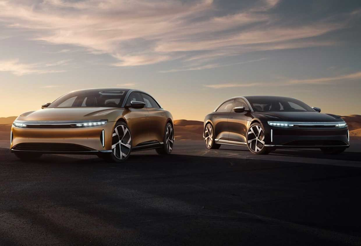 Lucid Air EV Makes up to 1080 Horsepower