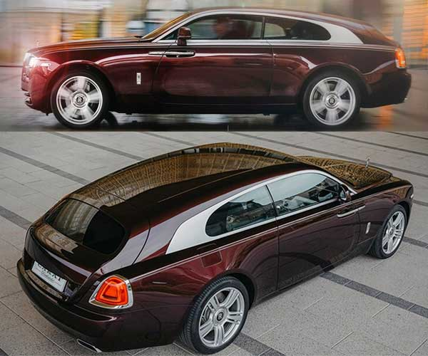 Someone Converts Rolls-Royce Wraiths into Wagons
