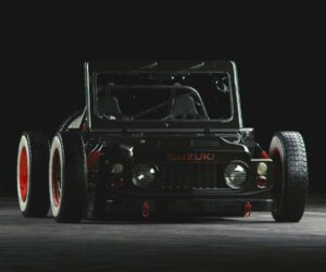 This 1977 Suzuki Jimny Rat Rod Concept Is One Wild Ride