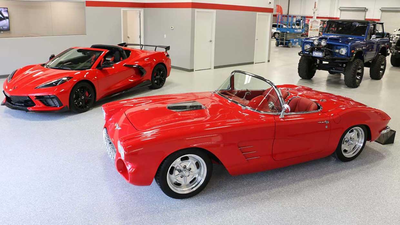 Win a C8 Corvette AND a 1962 Corvette Roadster