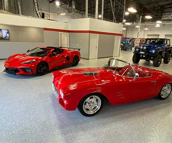 Win a C8 Corvette AND a 1962 Corvette Roadster