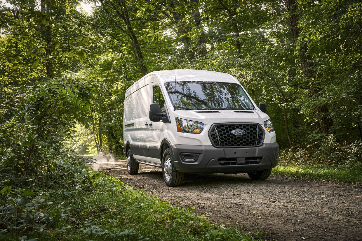 Ford Launches 2021 Transit Van Prep Packages as RV Sales Boom