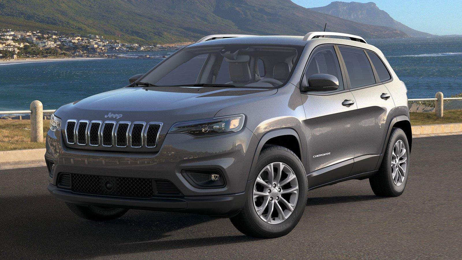Jeep Cherokee Latitude LUX Adds Nappa Leather