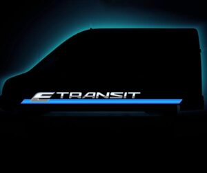 Ford E-Transit Electric Van Announcement Coming on November 12