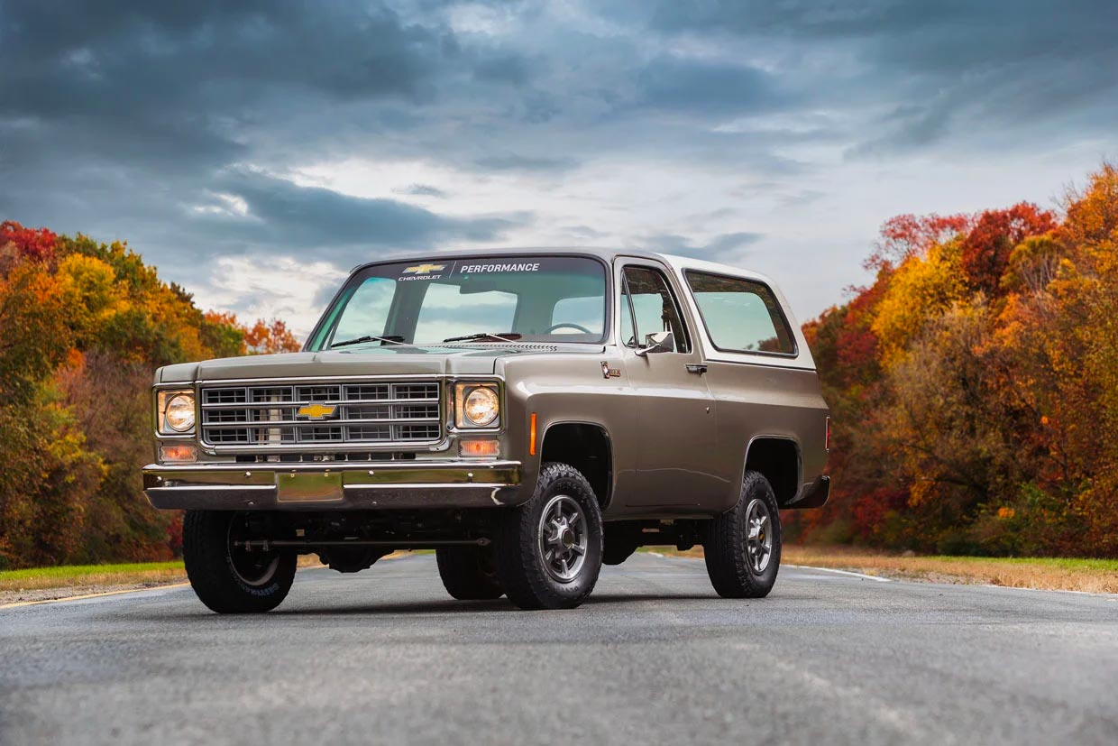 Chevrolet Shows Blazer-E with an Electric Crate Motor and Battery