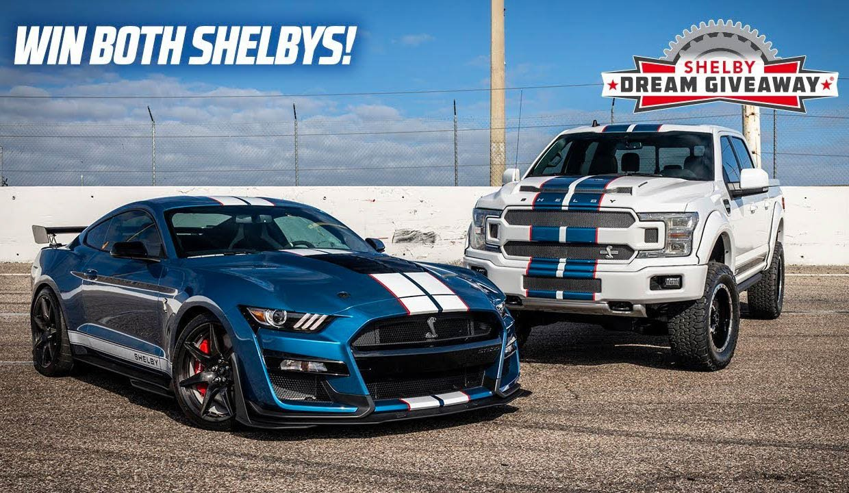 Win a 2020 Ford Mustang Shelby GT500 and a Shelby F-150 Truck