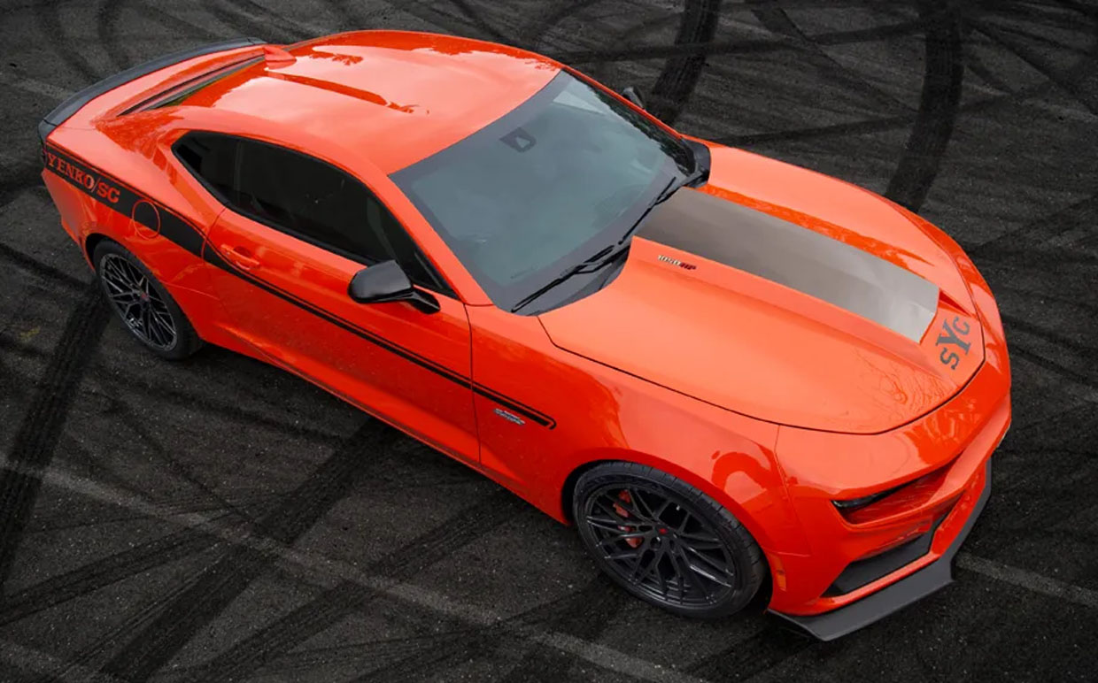 2021 Stage II Yenko Camaro Is a 1050 Horsepower Beast